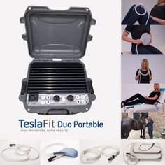 TeslaFit Duo Portable is a rugged PEMF system, available worldwide with trial and professional practitioner support by world renowned PEMF MD. Appliance Bundles, Home Depot Kitchen, Electromagnetic Field, White Bathroom Decor, Frozen Shoulder, Shock Wave, Trigger Points, Physical Therapy, Home Appliances