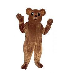 234-Z Bear Cub - Team-Mascots.  See more bear mascot costumes at:  http://www.team-mascots.com/bear-mascot-costumes/bear-234