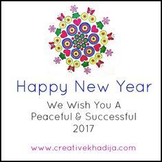 Wish you all a wonderful 2017. #happynewyear #creativekhadija #stayblessed  Thanks, Khadija  http://creativekhadija.com/