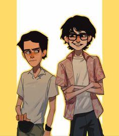 Eddie and Richie