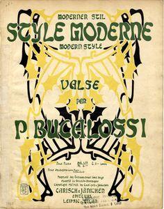 Style Moderne, 1902 (ill.: T C (monogram)); ref. 9451