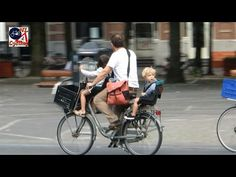 Cycling with babies and toddlers in The Netherlands - YouTube
