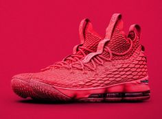 ee25840538e The Nike LeBron 15 Ohio State PE Was Given To The Buckeyes Players. These  are