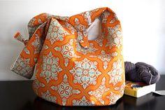 Sling Boho Bag Adjustable Messenger Sling Bag or by knitshearbliss