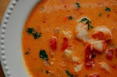 Low Carb (no rice) - Brazilian Shrimp Soup