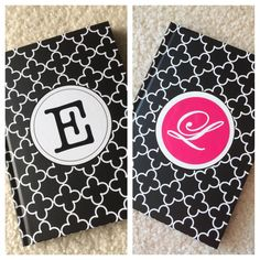 I was looking for a journal with my friend's first name initial and I really liked the one on the left. Problem is that my friend's name does not start with an E! So what to do? So I me…