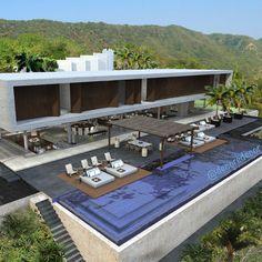 Belíssima maquete By Niz Chauvet Architects  ARCHITECTURE | FACADE | POOL