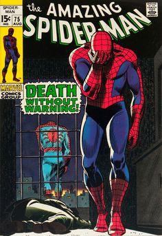 The Amazing Spider-Man #75, 1969   Cover by John Romita Sr.