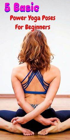 Put the power in your yoga workout with these 5 yoga poses. Move from one to the next in a continual yoga flow. #yogaforbeginners #ARTT
