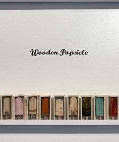 Les Wooden Popsicle de Johnny Hermann