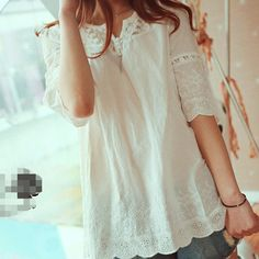Japanese-Style-Cute-Mori-Girl-White-Laciness-Embroidered-Blouse-2015-New-Spring-Women-Tops-Cotton-Flare.jpg_350x350.jpg (350×350)
