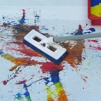 Mop Painting: Big Art Projects for Kids!