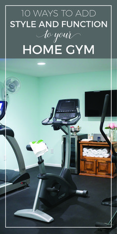 Floor Plan Spotlight  The Fun and Practical Game Room   Fitness     10 Ways to Add Style and Function to Your Home Gym Design