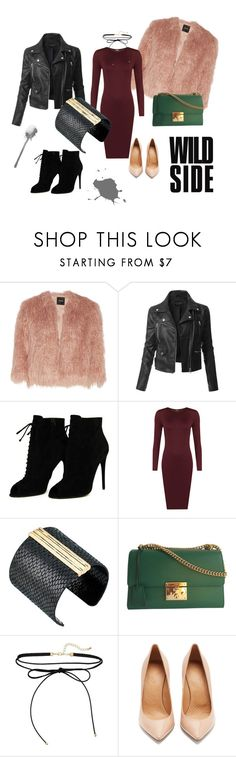 """""""rock"""" by edith-or on Polyvore featuring Theory, LE3NO, Tom Ford, WearAll, The Sak, Gucci and Maison Margiela"""