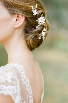 Pearl bridal hair pins