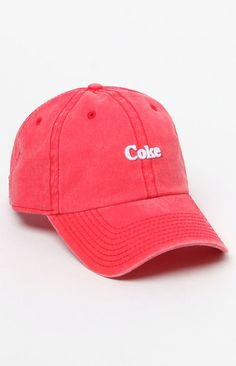 American Needle Coke Micro Logo Dad Hat https://api.shopstyle.com/action/apiVisitRetailer?id=626729104&pid=uid8100-34415590-43