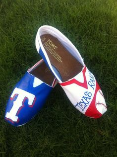 Texas Rangers TOMS!! I Must have!!!!! Love them