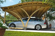 Wooden Carport | Interior Designing Trends