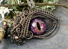 Woven Wire Evil Eye Jewelry by Twisted Sister Arts - The Beading Gem's Journal