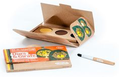 Kit de maquillage Bio Namaki : Ours et Girafe
