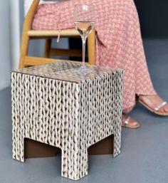 Dutch Design Chair dutch design stool with tiles in delft blue Dutch Design Chair Wool
