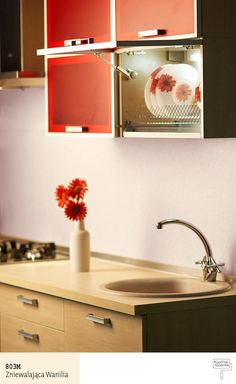 Kolor: 803M Zniewalająca Wanilia- Śnieżka Kuchnia Łazienka