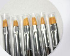 One stroke brush set of 6 brushes