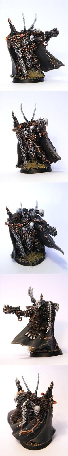 Chaos Black Legion Lord Kranon the Relentless