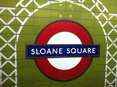 sloane square, London....this would be great in Sloane's room!