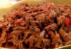 Cocina Latina y Algo más: ROPA VIEJA (CARNE RIPIADA O DESMENUZADA)