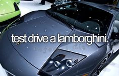 I don't want to just test drive one.. I want to OWN one! Orange Lamborghini ftw!<3