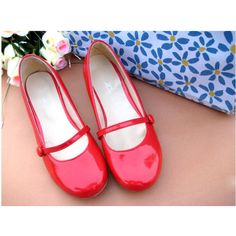 Women's shoes sweet candy hasp cute flat shoes flat heel shoes... ❤ liked on Polyvore