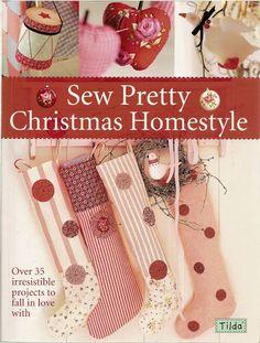 Sew Pretty Christimas Homestyle - DeMello Artes Ateliê - Picasa Webalbumok