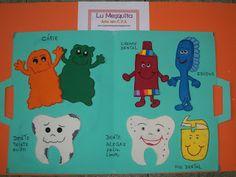 Lu Mesquita: higiene (pasta com a história do dentinho sujo)