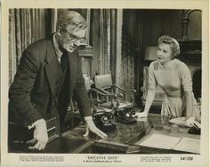 Barbara Stanwyck and Walter Pidgeon 1954 EXECUTIVE SUITE 8x10 Still Photo 1640-35, $9.75