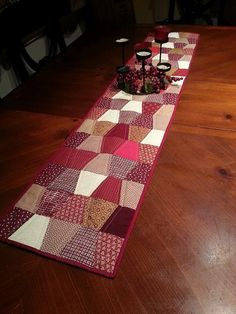 Tumbler Table Runner