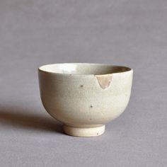 Japanese Kenjo-te Karatsu Tea Bowl Edo 17th century
