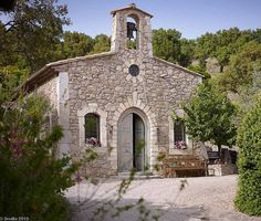 Pin for Later: Why Johnny Depp Is Selling an Entire French Town  The estate includes a private chapel.