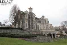 Mega Mansions, Mansions For Sale, Mansions Homes, Castle Floor Plan, Stone Mansion, French Exterior, English Manor Houses, Future Buildings, Home Design Floor Plans