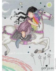 Gorjuss Counted Cross Stitch Kit - The Runaway ~ MUST FIND PATTERN