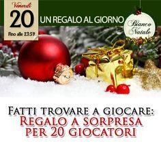 Promozione di Natale, Casinò online Voglia di Vincere #Slot, #Slotmachine, #Vogliadivincere, #Casino