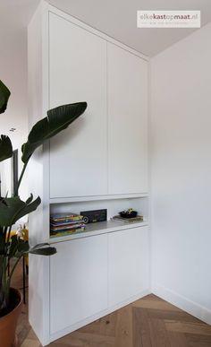 Living Room Built Ins, Interior Design Living Room, Built In Shelves, Creative Home, Diy Bedroom Decor, Home Decor, Shelving, Storage, Google