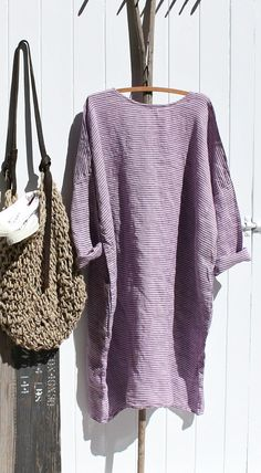 Linen Dress MegbyDesign Mein Style, Cozy Fashion, Linen Dresses, Looks Cool, Stylish Outfits, Boho Chic, Shabby, Clothes, Sewing