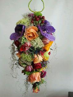 Bridal bouquet die mijn collega maakte
