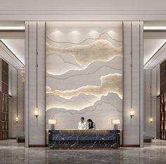 Luxury Hotel Design, Hotel Room Design, Lobby Design, Interior Architecture, Interior And Exterior, Interior Design, Commercial Design, Commercial Interiors, Trinidad