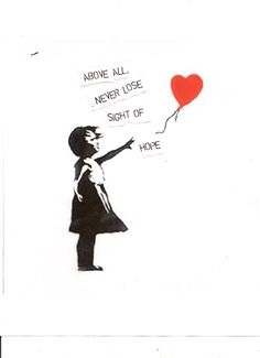 banksy tattoo. MIght actually get this in honor of my birth mom...