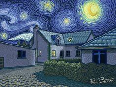 Starry Night by Paul Bertram