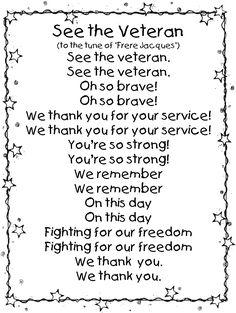 First Grade Wow: Veterans Day mini unit