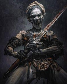 Marauder warrior