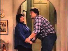 """Roseanne and Dan """"I got you babe"""". I teared up. Sooo sweet."""